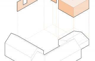 Jeanne Dekkers Architectuur_Banholt_exploded view01_white old orange new