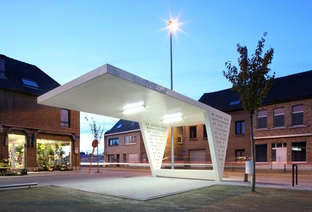 Luifel pasbrugplein zinkinfo nl - Architectuur en constructie ...